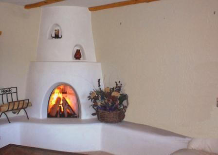 Kiva gas fireplace fireplaces for Fireplaces southwest