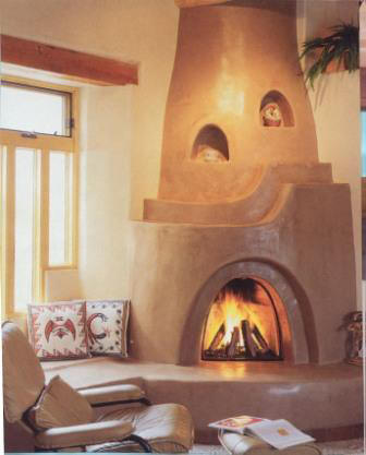 Kiva fireplaces teresa dovalpage for Kiva fireplaces